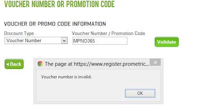 Microsoft exam voucher code