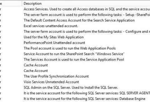 SharePoint 2013 Service Account Creator