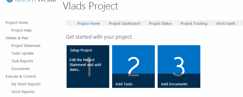 Project and Portfolio Management on SharePoint