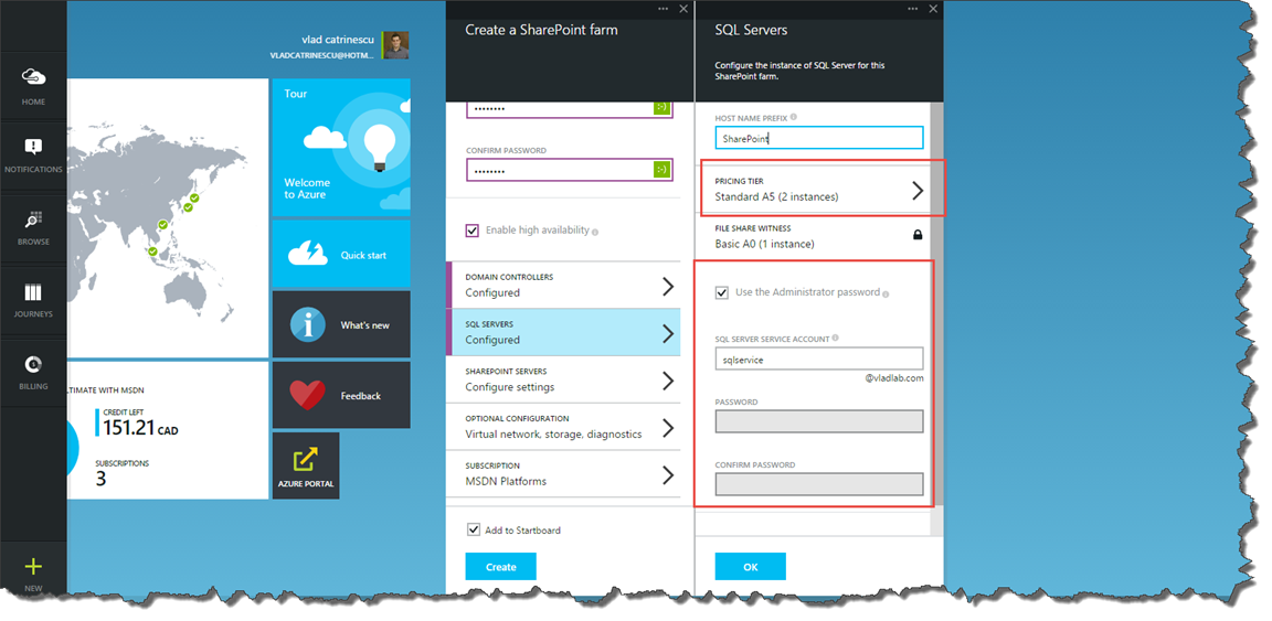 Create a SharePoint 2013 Farm in Azure Step by Step