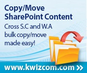 Copy/Move SharePoint Content