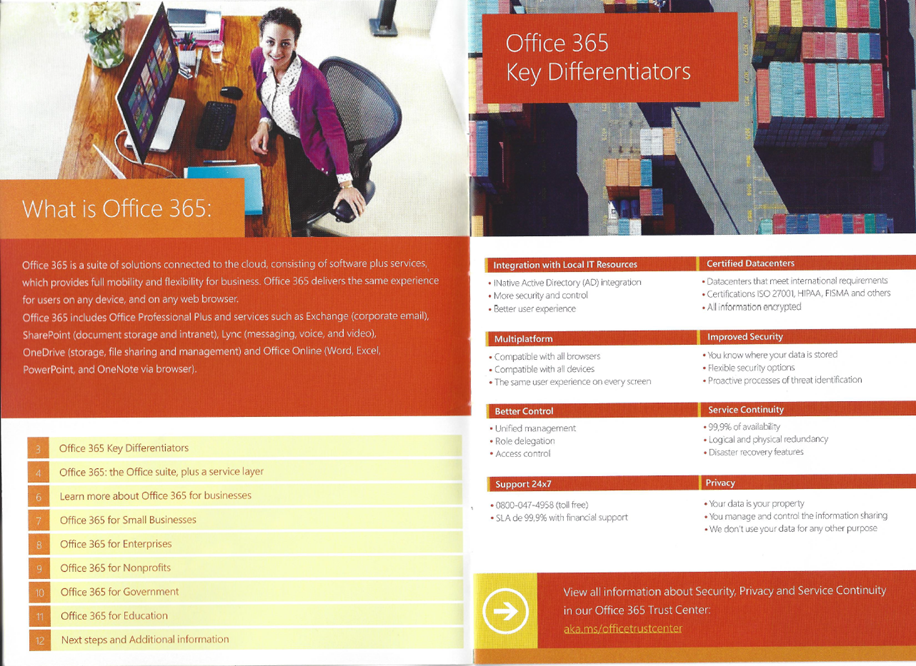 Midsize business plan office 365