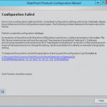SharePoint 2013 Configuration Failed! SQL Does Not Have the Required MaxDegree of Parallelism Setting of 1