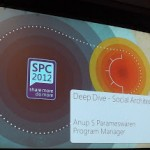 SharePoint Conference Deep Dive – Social Architecture Slides! #spc12