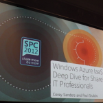 SharePoint Conference 2012 Windows Azure IaaS Deep Dive for SharePoint IT Professionals Slides #spc12
