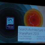 SharePoint Conference 2012: Search Architecture in SharePoint 2013 Slides #spc12