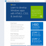 Microsoft is offering free voucher for exam 70-480 (HTML5 with JavaScript and CSS3 exam) + Free Training for it!