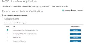 MCSD: SharePoint Applications Screenshot
