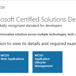 SharePoint 2013 MCSD Path, Exam 70-486 made official?