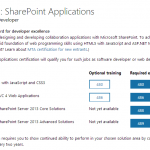 MCSD: SharePoint Applications Certification Path Officially announced, No Upgrade Path for MCPD