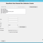 New CodePlex Version: SharePoint Host Named Site Collection Creator