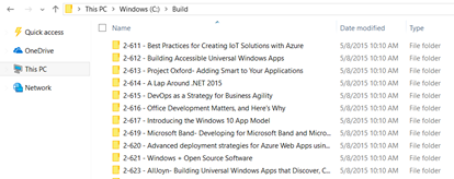 download Build Session Videos