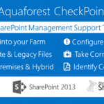 Review of the Aquaforest CheckPoint SharePoint Administration Tool