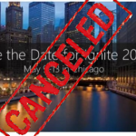 Ignite 2016 Chicago is Cancelled / Postponed