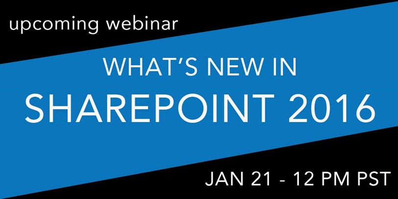 What's new in SharePoint 2016