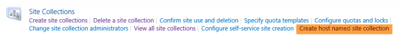 SharePoint Host Named Site Collection Creator