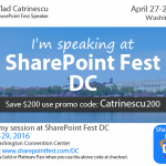 Announcing the Winners of the SharePoint Fest DC