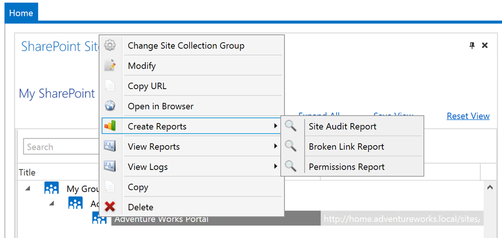 SharePoint Broken Link Manager