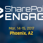 Speaking at SharePoint Engage Phoenix this March