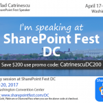 Win a free Pass to SharePoint Fest DC 2017