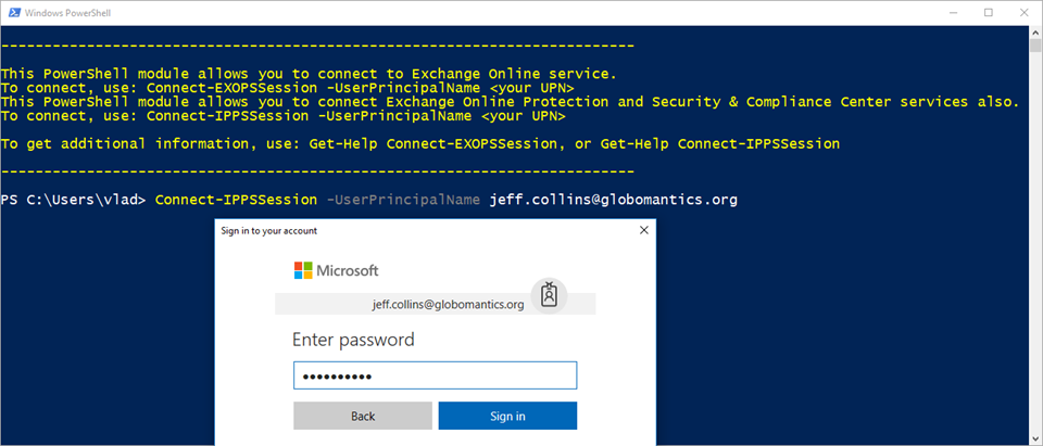 Connecting to Office 365 with PowerShell & Multi Factor Authentication