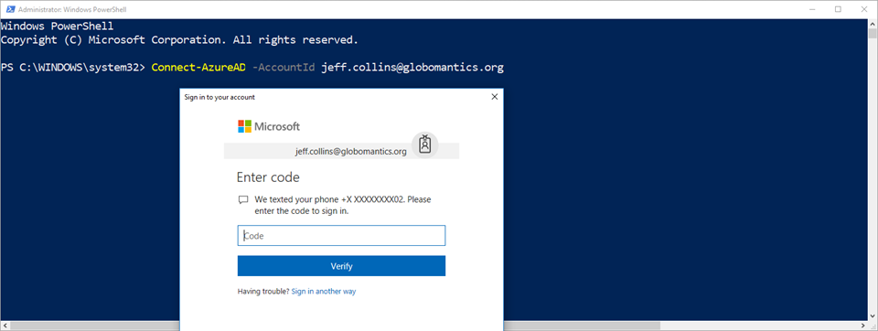 Connecting to Office 365 with PowerShell & Multi Factor