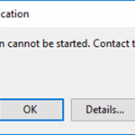 Exchange Online PowerShell Module Error: Application Cannot be Started – Contact the Application Vendor