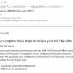 Renewed as Office Apps and Services MVP and awarded Cloud and Datacenter Management