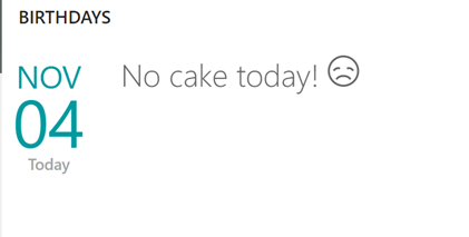 Finding users with no birthday