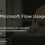 New Pluralsight Course: Getting Started with Microsoft Flow Usage and Administration