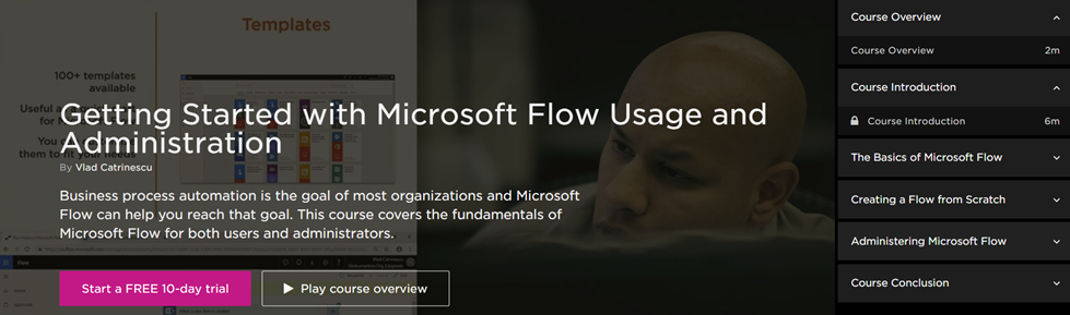 Microsoft Flow Usage and Administration