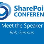 Meet the Speaker series: Bob German