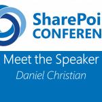 Meet the Speaker series: Daniel Christian