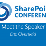 Meet the Speaker series: Eric Overfield
