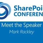Meet the Speaker series: Mark Rackley