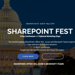 Win a free Pass to SharePoint Fest DC 2019