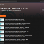 Over 30 sessions from SharePoint Conference 2019 now available on Pluralsight