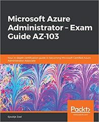 AZ-103 Study Guide: Microsoft Azure Administrator